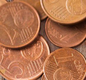 Nauda, centi, eiro centi